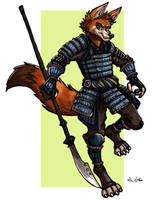 Rakkety Tom the Samurai by TheLivingShadow