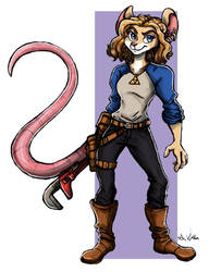 Noomi - The Mechanic by TheLivingShadow