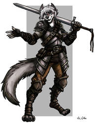 Liekos the Swordsman by TheLivingShadow
