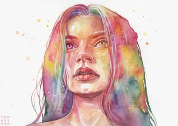 I found a rainbow by Tomasz-Mro
