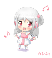 COMM : Chibi Tsuki Noname by KANE-NEKO