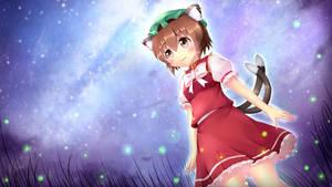 Touhou - Chen and the Night of Tanabata day by KANE-NEKO