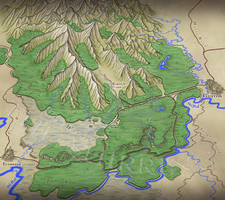 Novel Map: The Shirring, from Everreed to Guston by XianPryde