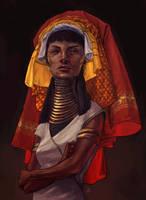 Kayan woman by JonEastwood