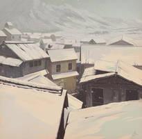Winter Town by JonEastwood