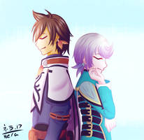 A Shepard and his Seraph - Tales of Zestiria by Nera-loka14
