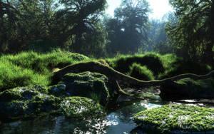 Water spring by Klontak