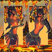 Dragon Symmetra by Loneckii