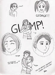 The George and I by MoofyKitten