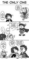 Dissidia fun: The Only One by pikajo