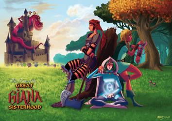 The Great Giana Sisterhood by Fougna