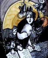 Moonlight Reading by Matteface