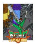 Nes Tribute: Bionic Commando by scottogara