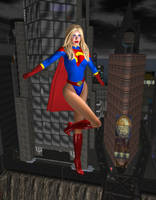 Before She Was Power Girl by EthereaS