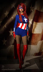 Maiden America in 3D! by EthereaS