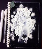 Inktober Day 5 by HiragaHikaru