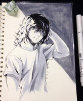 Inktober Day 6 by HiragaHikaru