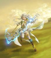 FEZ: Sorceress by silviacaballero