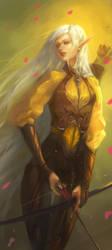 Elven Princess by silviacaballero