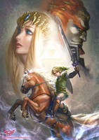 The Legend of Zelda by silviacaballero