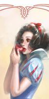 Disney Princesses Bookmarks: Snow White by silviacaballero