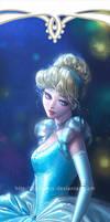 Disney Princesses Bookmarks: Cinderella by silviacaballero