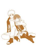 1 Naruto comforts Ruby Rose RWBY by mattwilson83