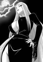 Halloween 2018 - Obey your mistress of the Dark by mattwilson83
