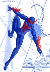 5 Ghost-Spider 2099 by mattwilson83