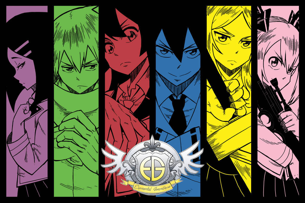Elemental Guardians by 0neDay