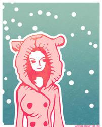 Nico Robin under the snow... by Luminoz