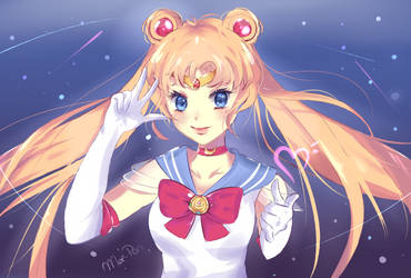 Usagi Tsukino - Sailor Moon by Moe-Pon