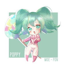 Little Sketch Practice - Poppy by Moe-Pon