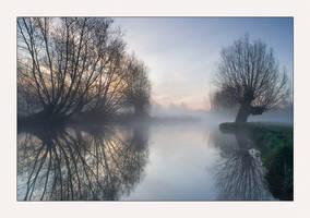 Flatford Mist by henroben
