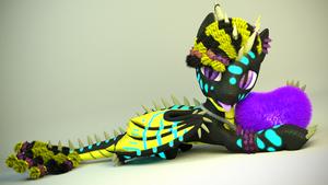 Blender   MLP   Epic render of my OC by ElectedPony