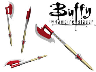 BTVS Slayer Scythe render by mogelina
