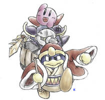 Kirby - The Trio of Popstar by Minon