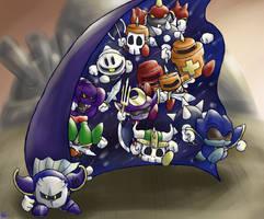 Kirby - Knight Call by Minon