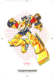 Sunstreaker #1 for Transformers IDW Limited Vol. 2 by REX-203