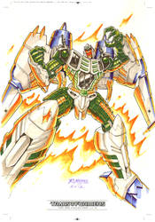 Thunderwing #1 for Transformers IDW Limited Vol. 2 by REX-203