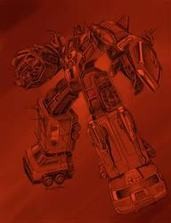 Red Ranger Robo by REX-203