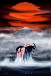 SAVE JAPAN DIGITAL PAINTING by studiomuku