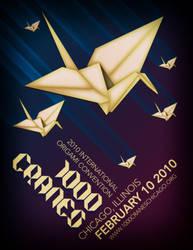 1000 CRANES by studiomuku