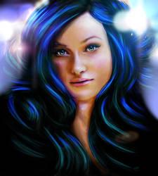 Olivia Wilde Digital Portrait by studiomuku