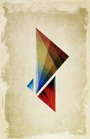Triangularity Means We Dream in Geometric Colors by studiomuku