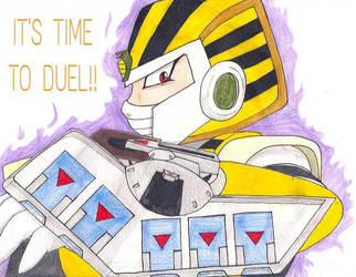 IT'S TIME TO DUEL!! by ShiningDreamer