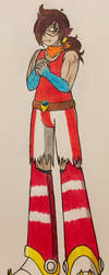 Reiko - Genderbent AU of Reila by ShiningDreamer