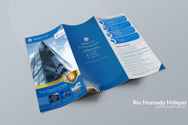 Mockup Brochure Technovatus by spiderio