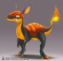 Tandor - Raptorch by ArtKitt-Creations