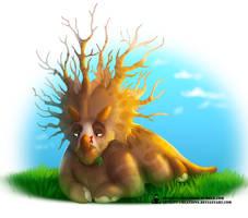 Pun Dinos - Treeceratops by ArtKitt-Creations